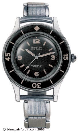 The Blancpain 50th Anniversary 50 Fathoms Diver S Watch